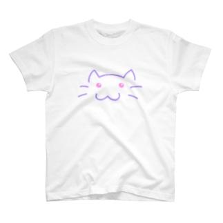しんぷる ゆめねこ T-shirts