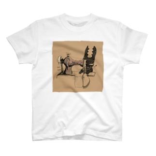 クワガタウサギとみしん Tシャツ