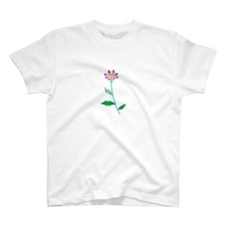 ミヤコワスレ T-shirts