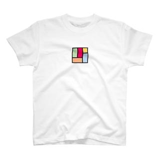カラフル四畳半 Tシャツ