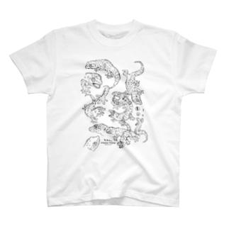 らくがきトッケイ T-shirts