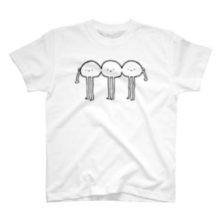おもちともだち T-shirts