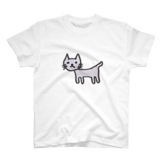 奇妙なねこ T-shirts