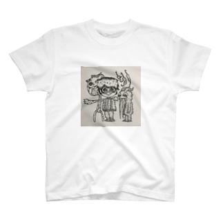 ひもじい思い T-shirts