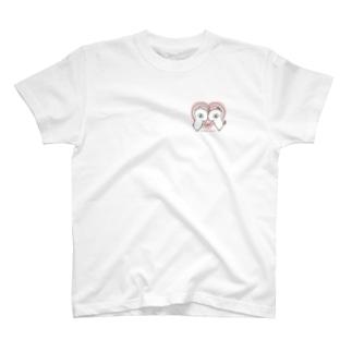 ゆるうさぎ ラブ T-shirts
