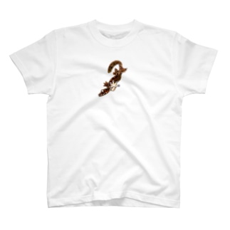 テイオウヘラオヤモリ(カラーver) T-Shirt