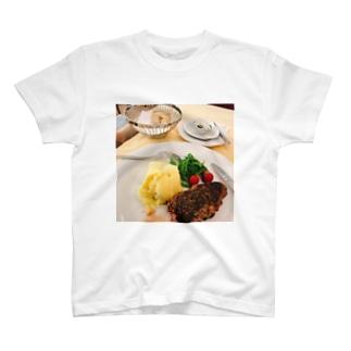 美味しいステーキ T-shirts