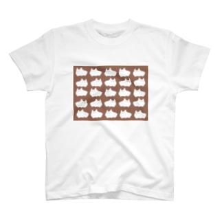 ふとねこの大群 T-shirts