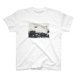 鬼ちゃんと街 T-shirts