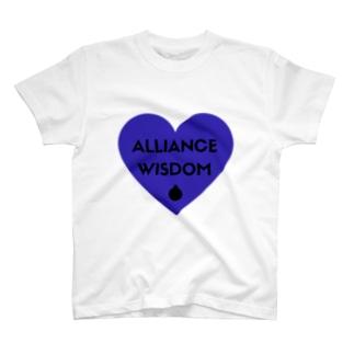 ALLIANCE&WISDOM・アリスマングッズ T-shirts