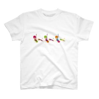 ギターを持つ小悪魔 T-shirts