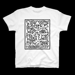PB.DesignsのPassingTree・ホワイト T-shirts