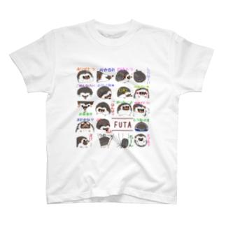 ハリネズミの風太5 T-shirts