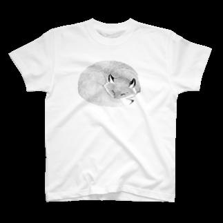 segasworksのねたふりきつね T-shirts