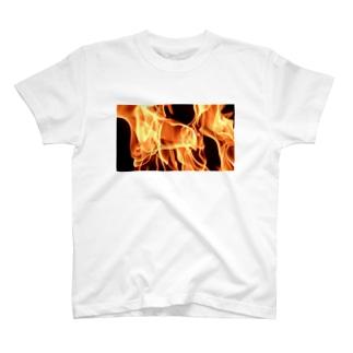 炎中 T-shirts