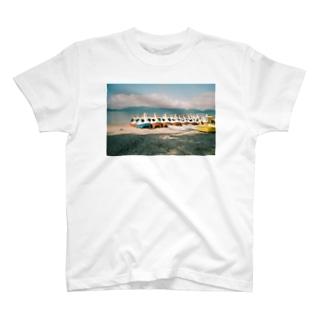 スワンボート T-shirts