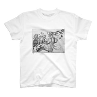 戦いはスリリング T-shirts