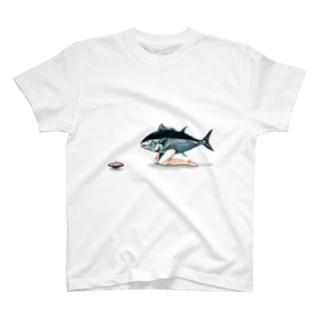 まぐろ君 T-shirts