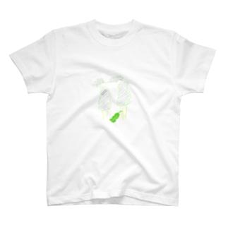 森林に集ウ永遠に若者たち T-shirts