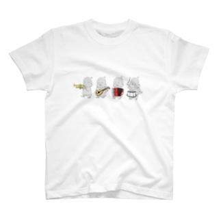 プープージャカジャカピロピロドコドコ T-shirts