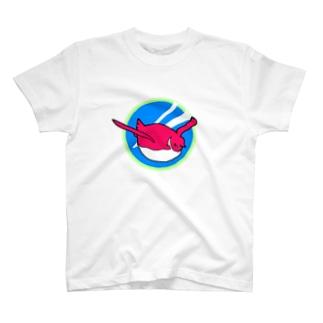 汽車ペンギン号ヘッドマーク T-shirts
