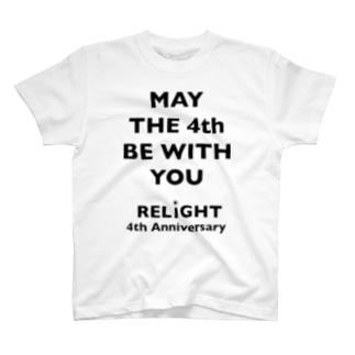 RELIGHT 4th Anniv T T-shirts