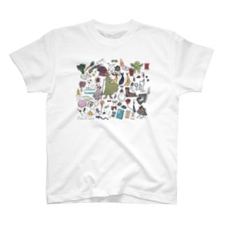 らりるれらくがき T-shirts