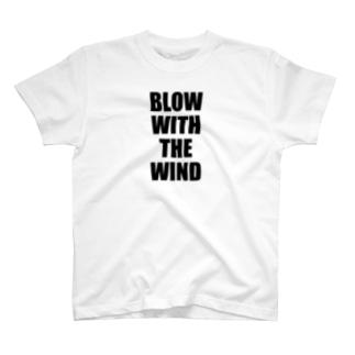 自由な風に吹かれて! -Type.1.1- T-shirts