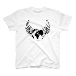 Earth's feathers ー地球の羽根ー T-shirts