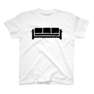 ラウンジのソファ T-shirts