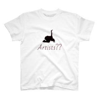 アーティスト T-shirts
