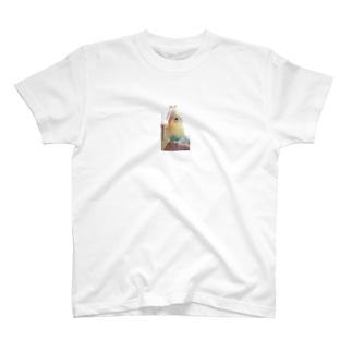 セキセイインコ 夏樹くん T-shirts