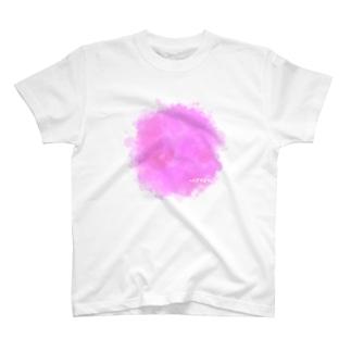 ピンクのヘドがでるわ T-shirts