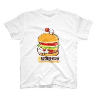 ましゅばーがー T-shirts