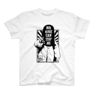 SecRetのNO ONE CAN STOP ME T-shirts