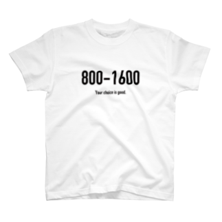 wlmのPOINTS 800-1600 T-shirts
