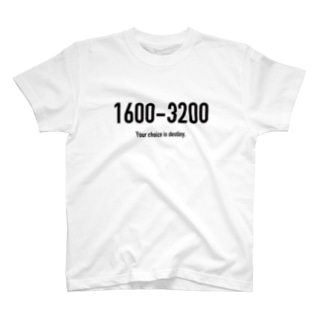 POINTS - 1600-3200 T-shirts