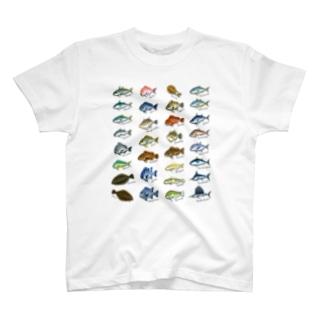Saltwater fish_1 T-shirts