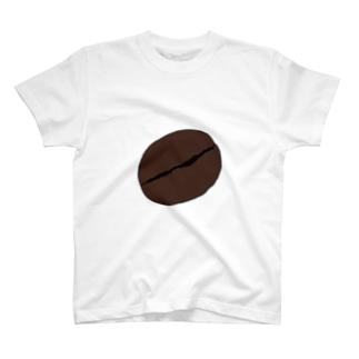 コーヒー豆W T-shirts