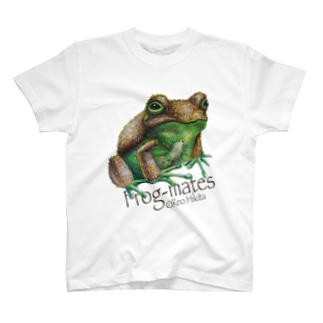 カエルメイト(Frog-mates)より「キウイガエル」 T-shirts