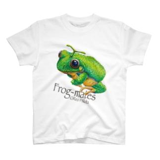 カエルメイト(Frog-mates)より「メロッグ」 T-shirts
