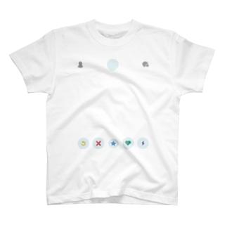 スワイプしてもらえる服 T-shirts