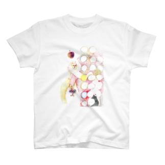 ガリレオの猫 T-shirts