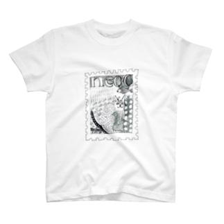 切手NECO T-shirts