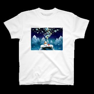 KimikoUmekawaの星屑 Tシャツ
