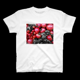 matsudaiのred T-shirts