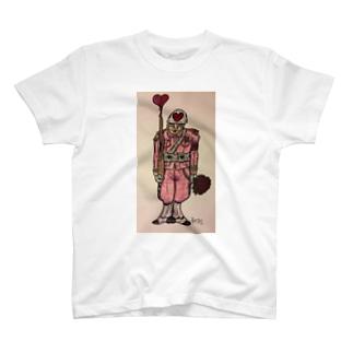 «Soldat de l'Amour» by La Patisss'rie au Japon T-shirts