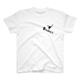 ブレイクダンス T-shirts