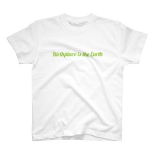出身地はアース-B(GR) T-shirts