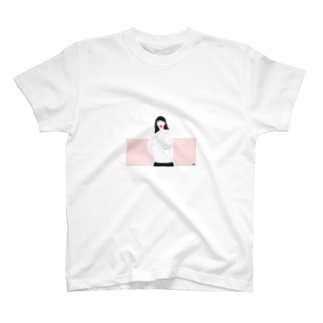 ソラノカサネのA girl  T-shirts